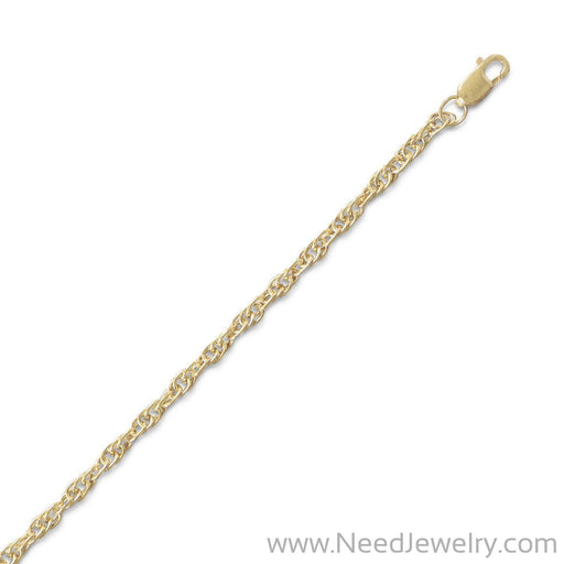 14/20 Gold Filled Rope Chain (2.5mm)-Chains-Needjewelry.com