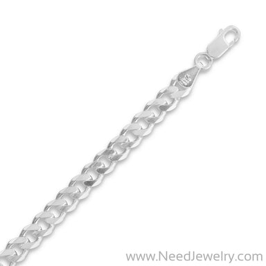 150 Beveled Curb Chain (5.7mm)-Chains-Needjewelry.com
