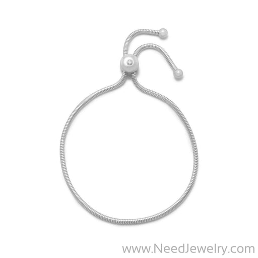 Adjustable Charm Capable Bolo Bracelet-Bracelets-Needjewelry.com