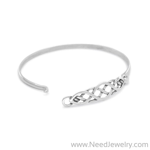 Celtic Style Bangle-Bracelets-Needjewelry.com