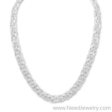 "18"" Byzantine Necklace-Necklaces-Needjewelry.com"