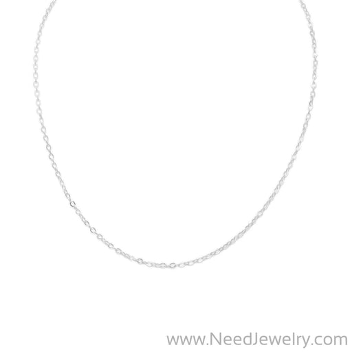 "13""+1"" Extension Cable Chain Necklace-Chains-Needjewelry.com"