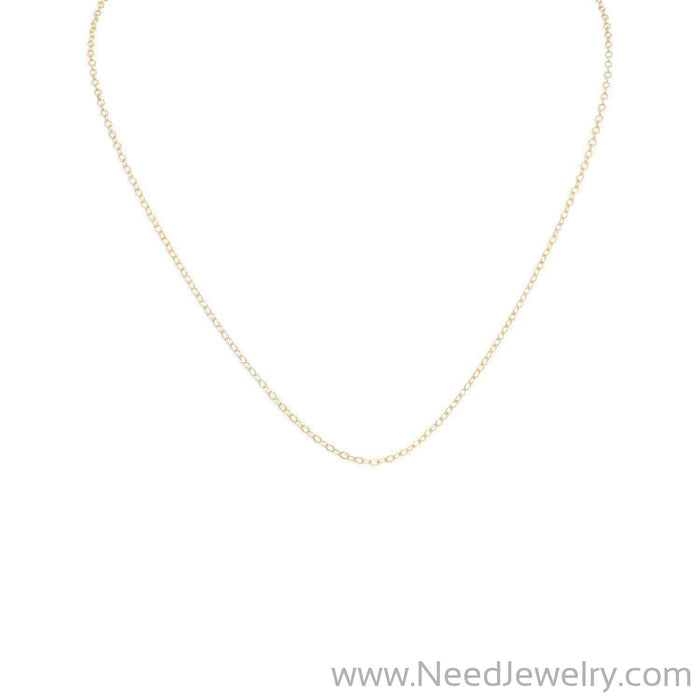 "13""+1"" 14/20 Gold Filled Cable Chain-Necklaces-Needjewelry.com"