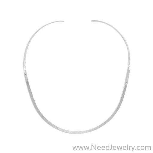 Hammered Open Back Collar-Necklaces-Needjewelry.com