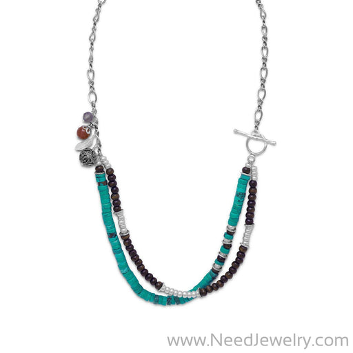 Multistone Terra Bella Necklace-Necklaces-Needjewelry.com