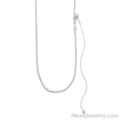 Item # [sku} - Adjustable Hollow Mesh Necklace on NeedJewelry.com