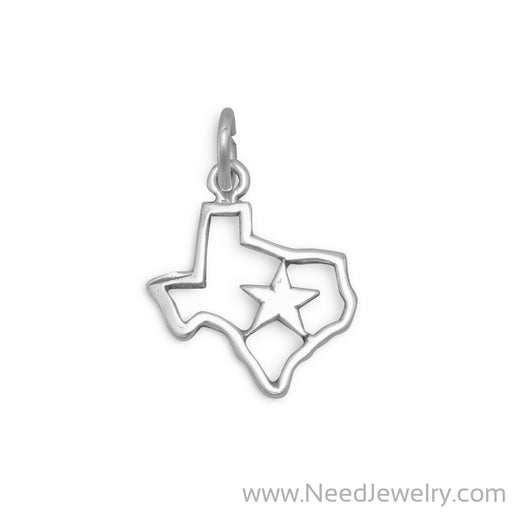 Texas with Star Charm-Charms-Needjewelry.com