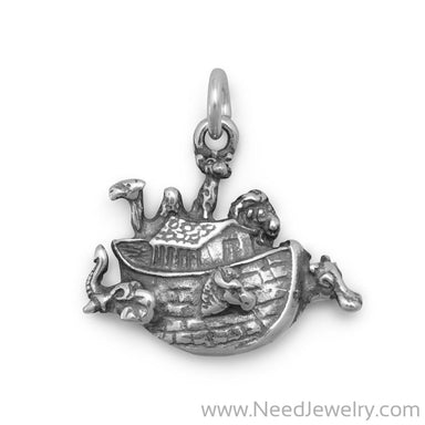 Small Noah's Ark Charm-Charms-Needjewelry.com