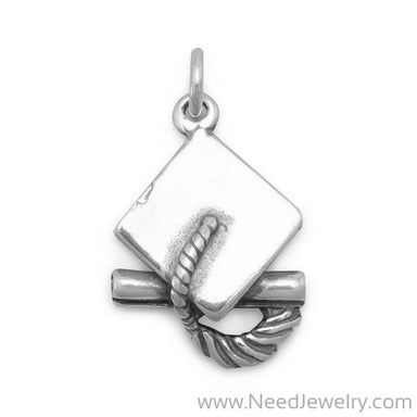 Graduation Cap Charm-Charms-Needjewelry.com