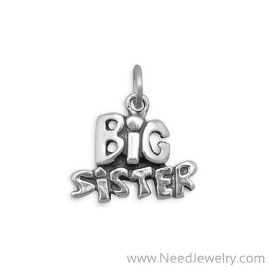 Big Sister Charm-Charms-Needjewelry.com