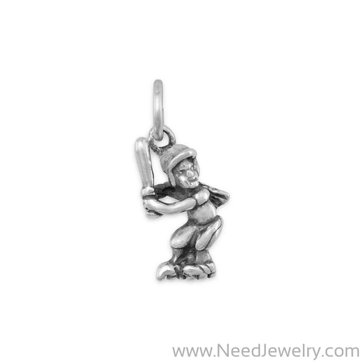 Girl Softball Player Charm-Charms-Needjewelry.com