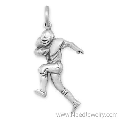 Football Player Charm-Charms-Needjewelry.com