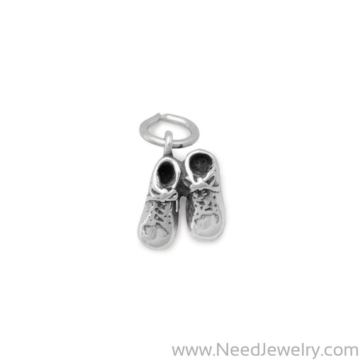 Pair Baby Shoes Charm-Charms-Needjewelry.com