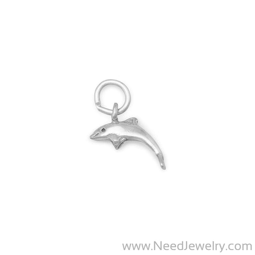 Small Dolphin Charm-Charms-Needjewelry.com