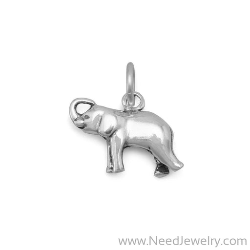 Small Elephant Charm-Charms-Needjewelry.com