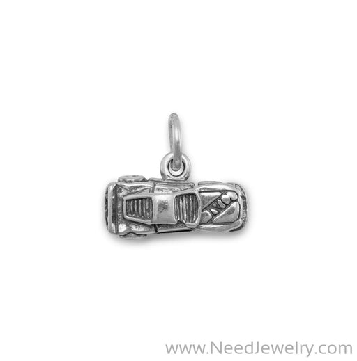 Small Race Car Charm-Charms-Needjewelry.com
