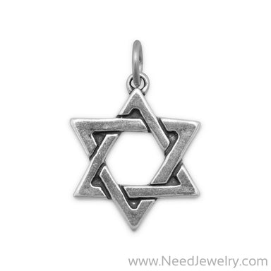 Star of David Charm-Charms-Needjewelry.com