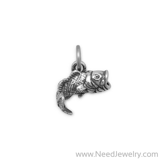 Large Mouth Bass Charm-Charms-Needjewelry.com