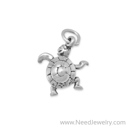 Small Turtle Charm-Charms-Needjewelry.com