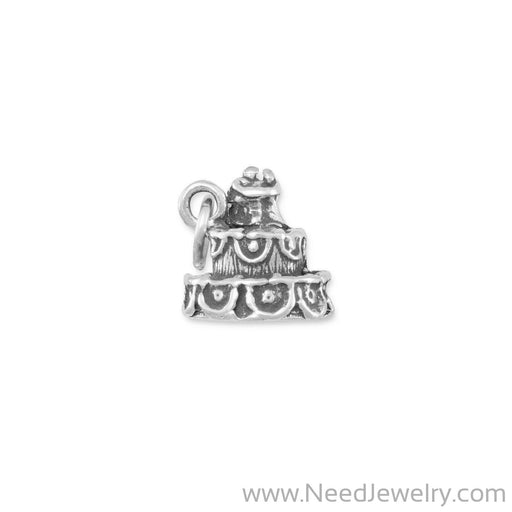 Wedding Cake Charm-Charms-Needjewelry.com