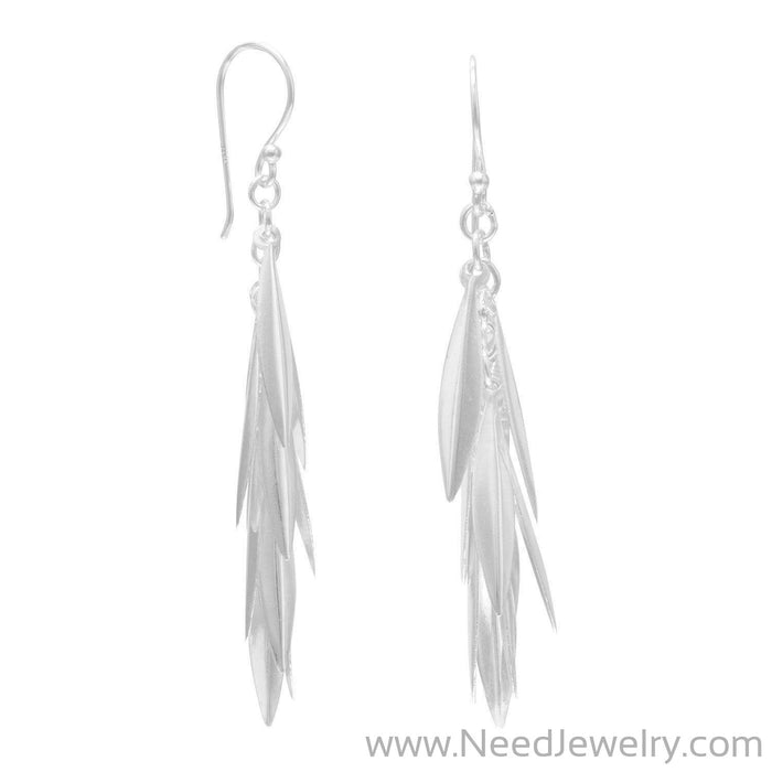 Marquise Cluster Drop Earrings-Earrings-Needjewelry.com