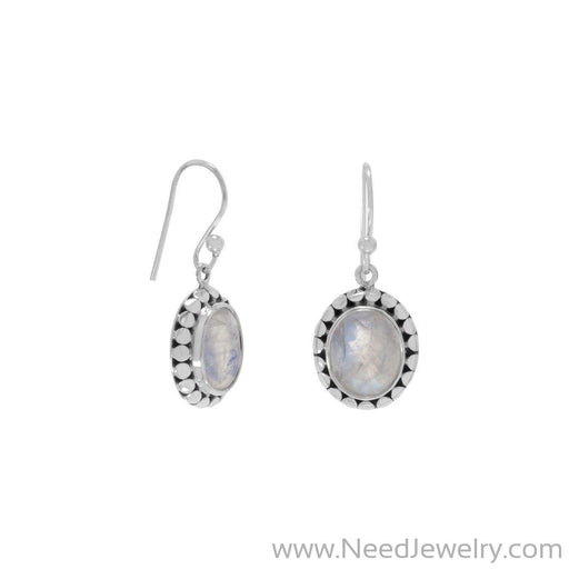 Rainbow Moonstone Earrings-Earrings-Needjewelry.com