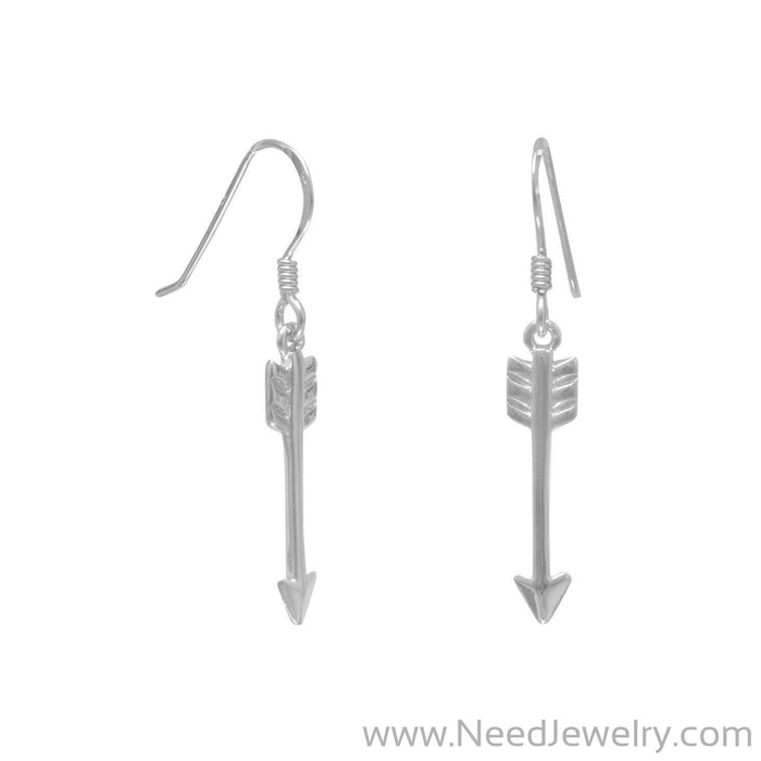Aim High Arrow Earrings-Earrings-Needjewelry.com
