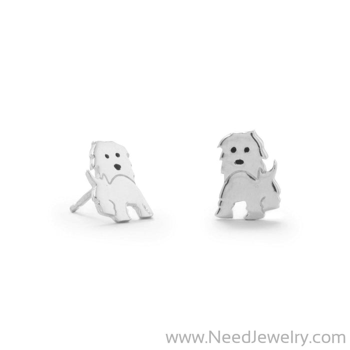 Polished Puppy Earrings-Earrings-Needjewelry.com