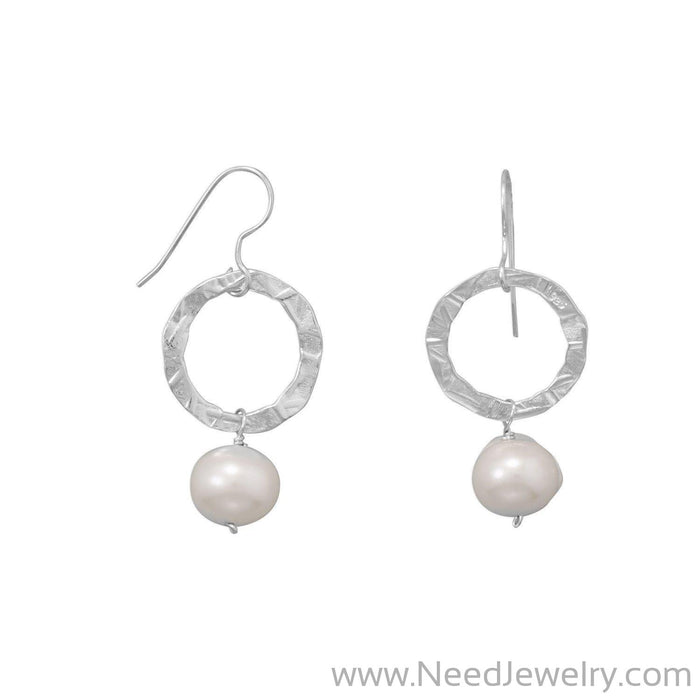 Strike A Pose! Cultured Freshwater Pearl Earrings-Earrings-Needjewelry.com