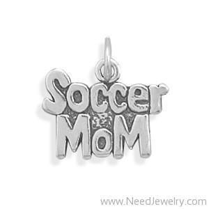 Soccer Mom Charm-Charms-Needjewelry.com