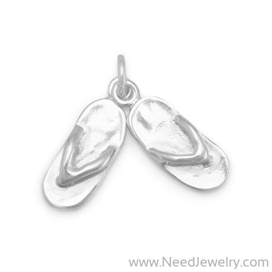 Pair of Movable Sandals Charm-Charms-Needjewelry.com