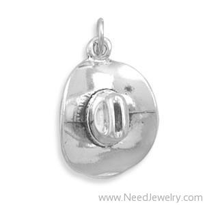72211-Cowboy Hat Charm-Charms-Needjewelry.com