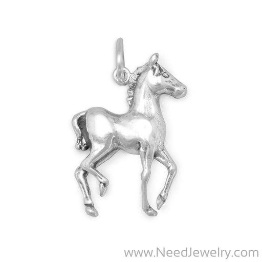 72230-Prancing Horse Charm-Charms-Needjewelry.com