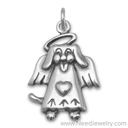 Dog Angel Charm-Charms-Needjewelry.com