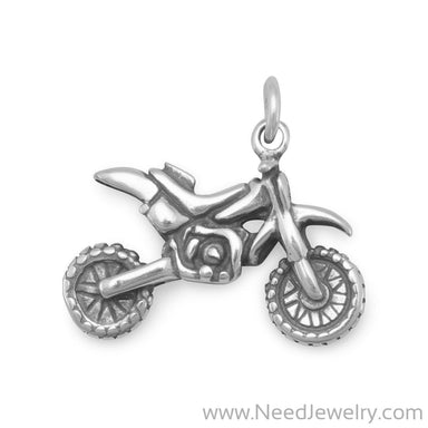 Dirt Bike Charm-Charms-Needjewelry.com
