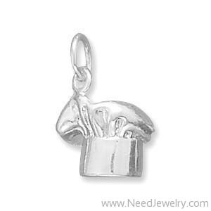 Chef's Hat Charm-Charms-Needjewelry.com