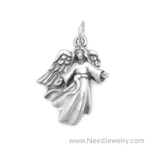 Angel with Open Arms Charm-Charms-Needjewelry.com
