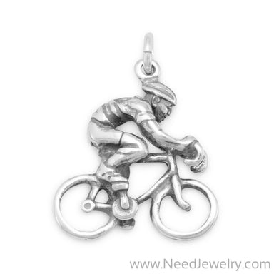 Cyclist Charm-Charms-Needjewelry.com