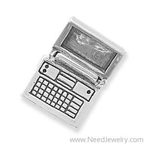 Movable Laptop Computer Charm-Charms-Needjewelry.com
