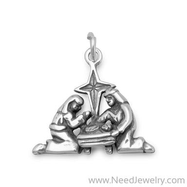 Nativity Charm-Charms-Needjewelry.com