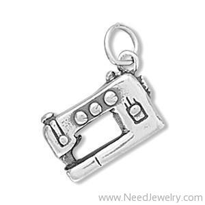 Sewing Machine Charm-Charms-Needjewelry.com