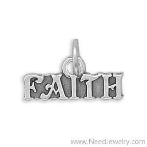 Faith Charm-Charms-Needjewelry.com