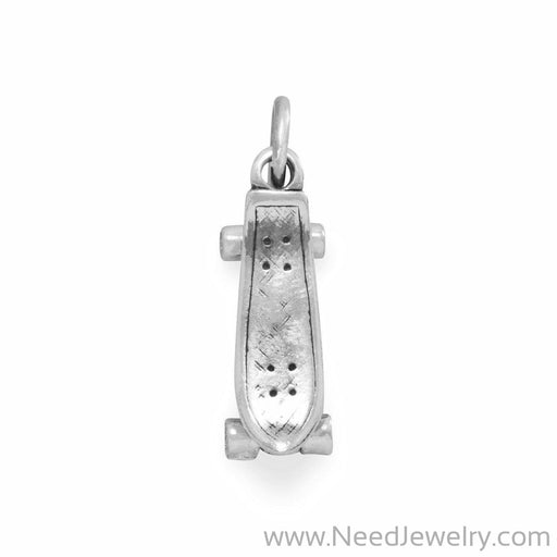 Movable Skateboard Charm-Charms-Needjewelry.com