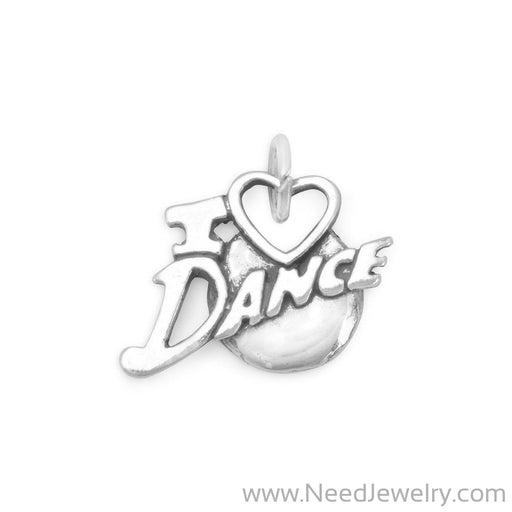 I Love Dance Charm-Charms-Needjewelry.com
