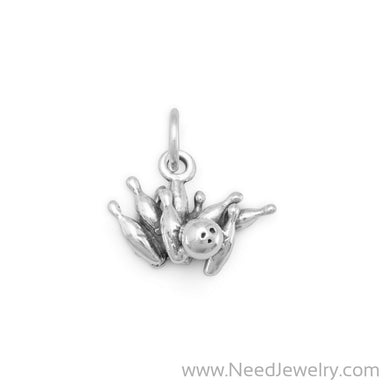 Bowling Strike Charm-Charms-Needjewelry.com