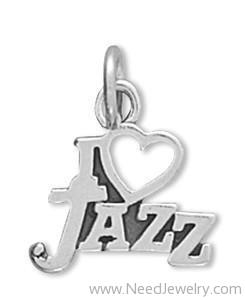 I Love Jazz Charm-Charms-Needjewelry.com