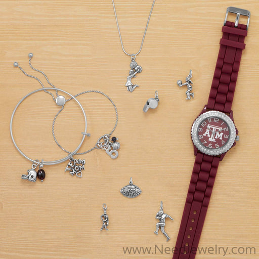 Team Mom Charm-Charms-Needjewelry.com