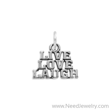 Live Love Laugh Charm-Charms-Needjewelry.com