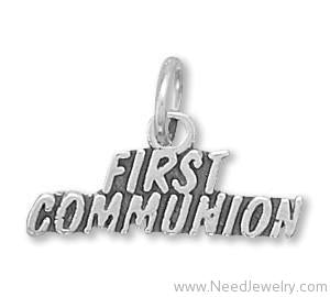 First Communion Charm-Charms-Needjewelry.com