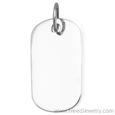 Engravable Tag Pendant-Pendants-Needjewelry.com